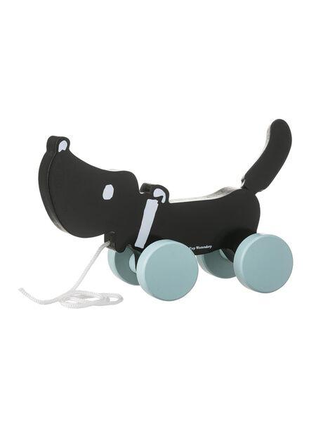 houten trekdier Takkie de hond - 15122380 - HEMA