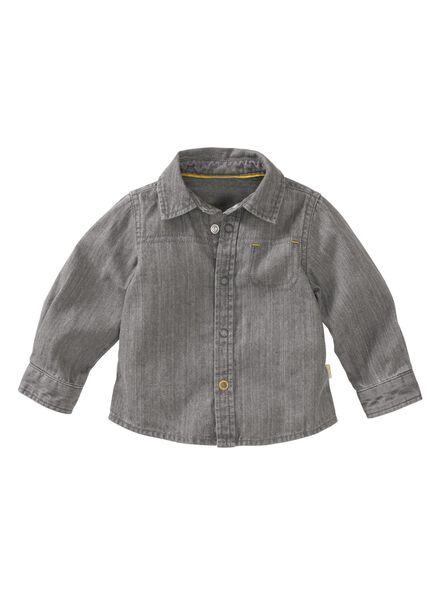babyblouse grijs grijs - 1000004700 - HEMA