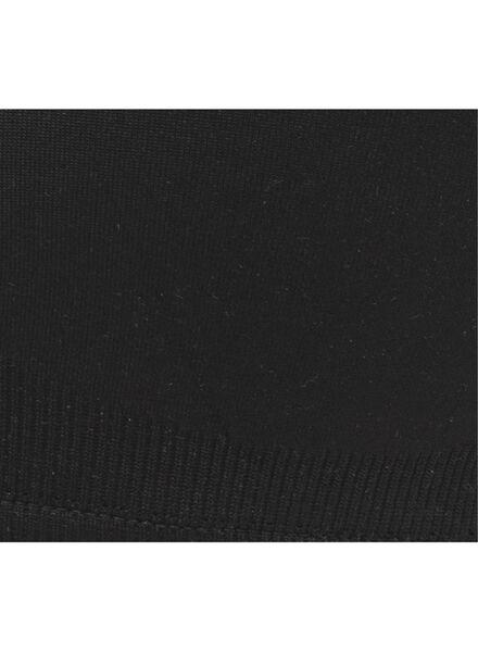 padded bh - support zonder beugels XS - L zwart zwart - 1000008782 - HEMA