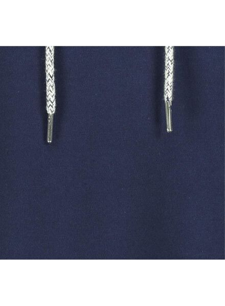 dames sweathoodie donkerblauw donkerblauw - 1000015416 - HEMA