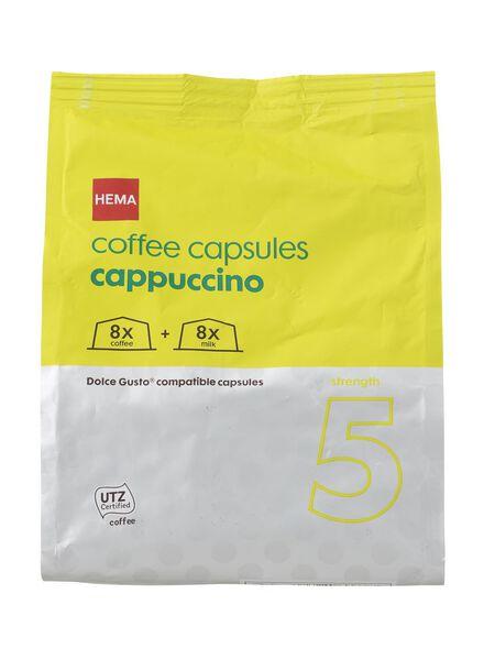 koffie capsules cappuccino - 17110020 - HEMA