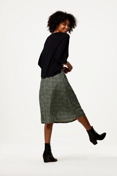 dames t-shirt zwart M - 36208067 - HEMA