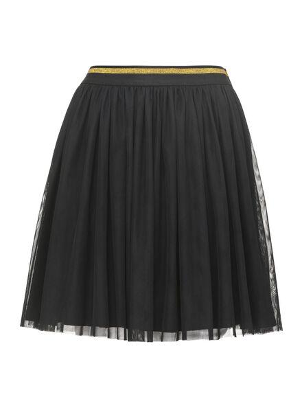 dames tule rok zwart - 36296411 - HEMA
