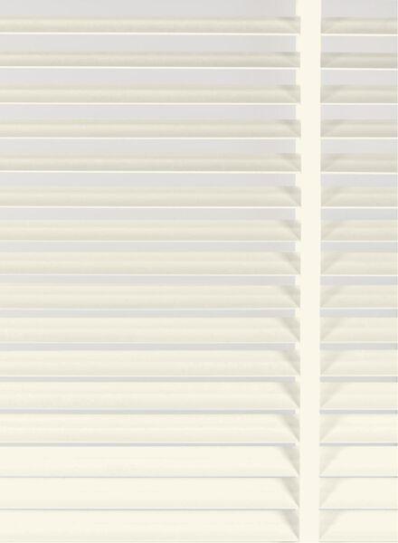 jaloezie hout 50 mm gebroken wit hout 50 mm - 7420097 - HEMA