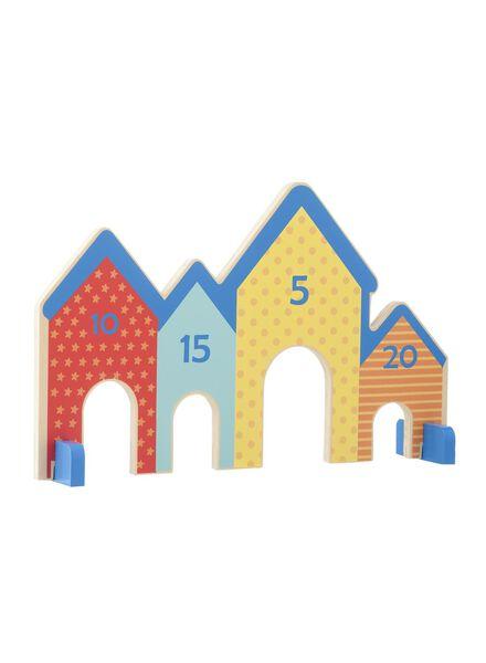 houten knikkerpoortje - 15110224 - HEMA