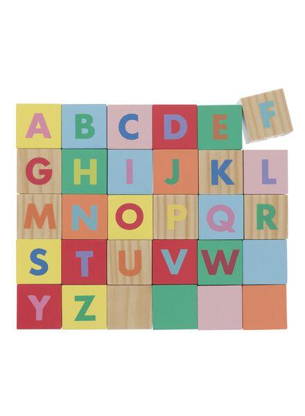 alfabet blokkenpuzzel - 15110214 - HEMA