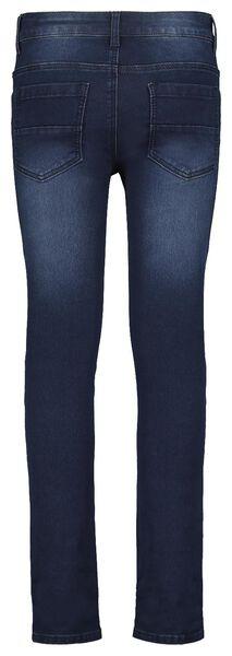 kinder jeans skinny fit donkerdenim donkerdenim - 1000021556 - HEMA