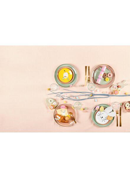 dinerbord 26,5 cm - reactief glazuur - roze - 9670200 - HEMA