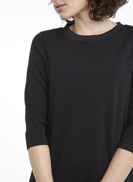 damesjurk zwart zwart - 1000010617 - HEMA