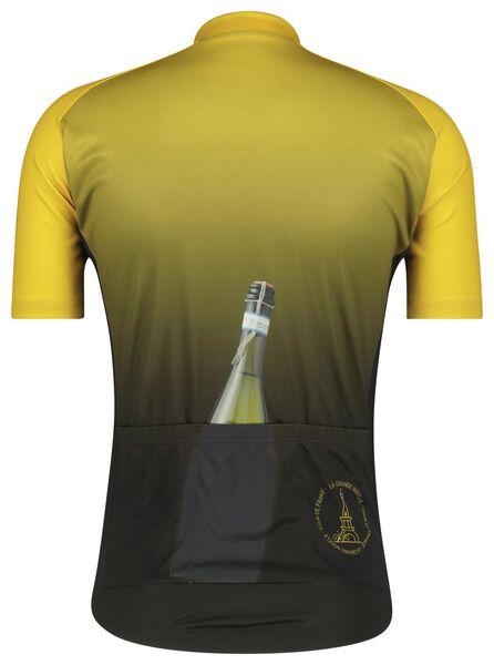 fietsshirt champagne zwart zwart - 1000021133 - HEMA