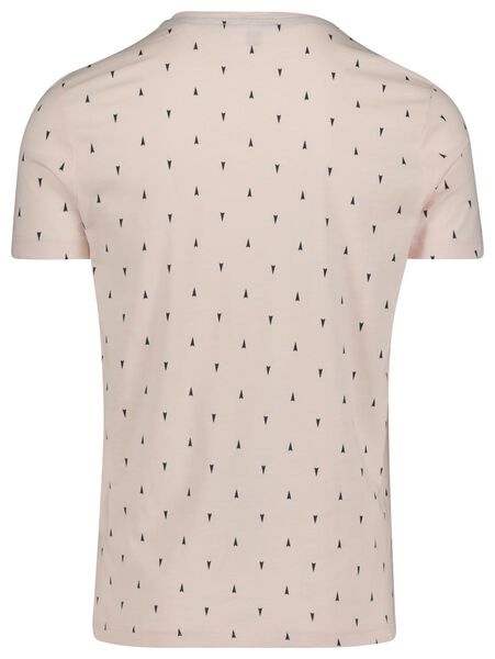 heren t-shirt lichtroze lichtroze - 1000018739 - HEMA