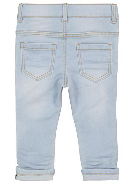 baby jogdenim lichtblauw lichtblauw - 1000017448 - HEMA