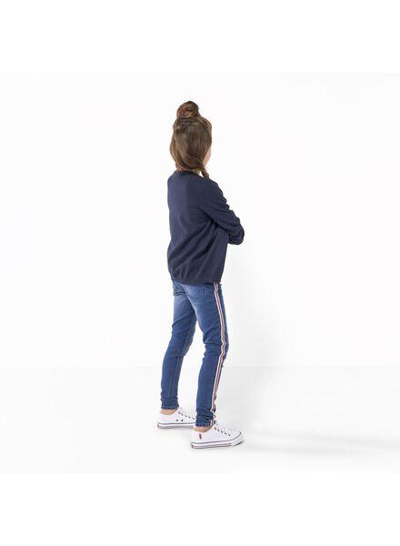 kinder skinnybroek blauw blauw - 1000011065 - HEMA