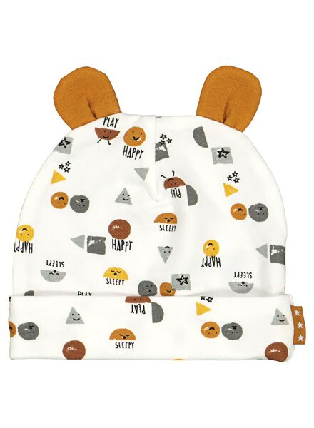 newborn setje muts en slofjes - biologisch katoen - 33495910 - HEMA