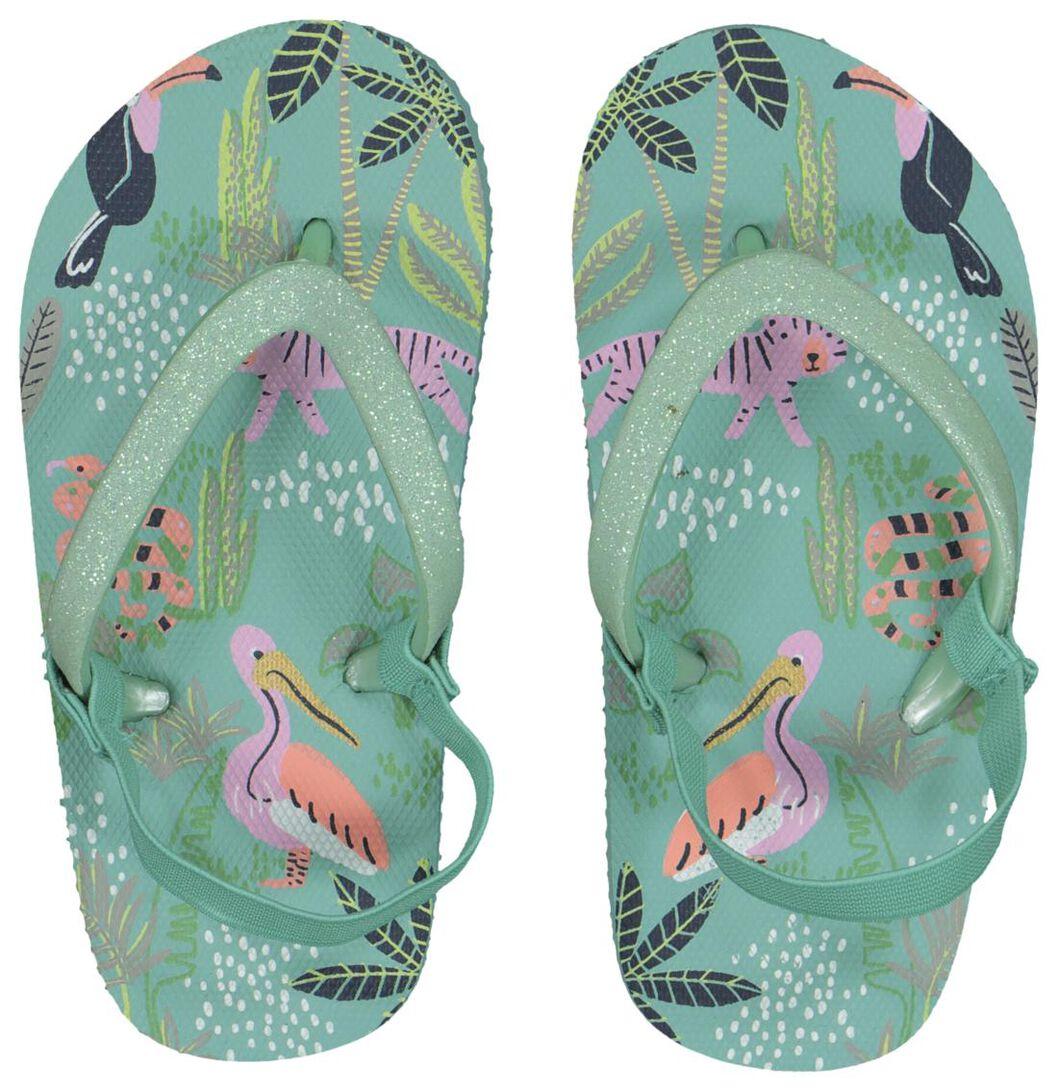Vrolijke slippers uit de Hema meisjeskleding zomer collectie