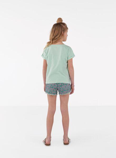 kinder t-shirt lichtgroen lichtgroen - 1000013090 - HEMA