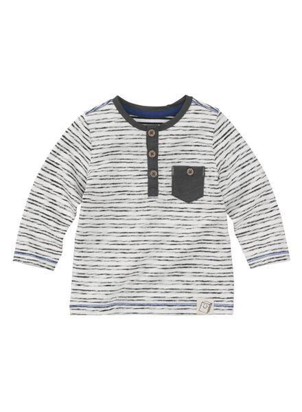 baby t-shirt blauw blauw - 1000009411 - HEMA