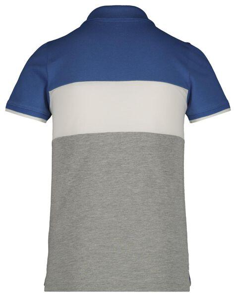 kinder poloshirt felblauw felblauw - 1000018925 - HEMA