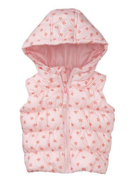 baby bodywarmer roze roze - 1000003803 - HEMA