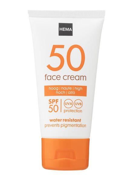 gezichtscrème SPF 50 - 11610152 - HEMA