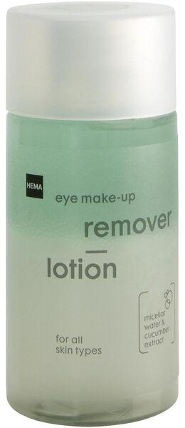 oog make-up reinigingslotion 2-fasen 125ml - 17880027 - HEMA