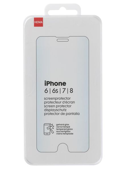 screenprotector Iphone 6/6S/7/8 - 39630036 - HEMA