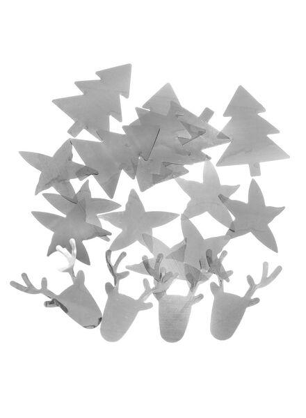 3-pak folieconfetti - 25600514 - HEMA