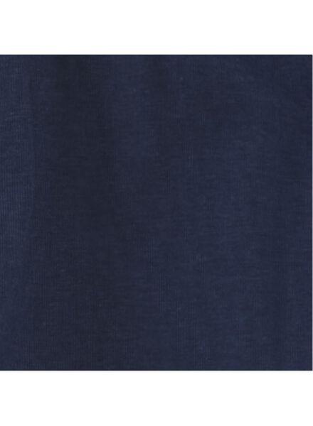 kinderpyjama donkerblauw donkerblauw - 1000012215 - HEMA