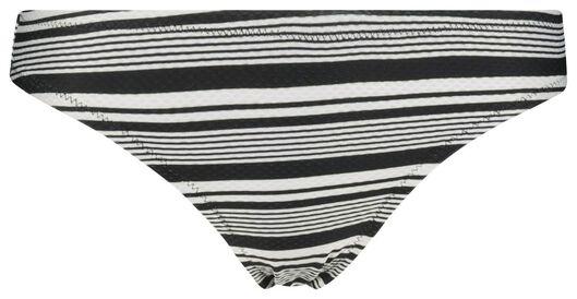 dames bikinislip zwart/wit zwart/wit - 1000017895 - HEMA