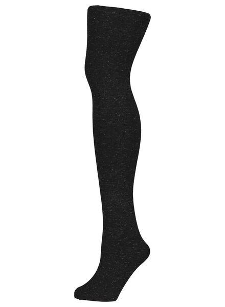 maillot fashion glitter zwart 36/38 - 4050331 - HEMA