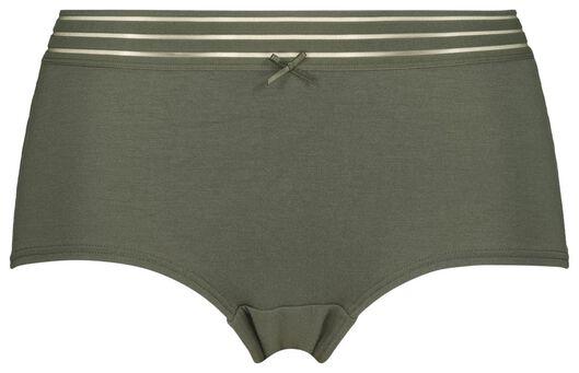 dameshipster modal groen XL - 19622445 - HEMA
