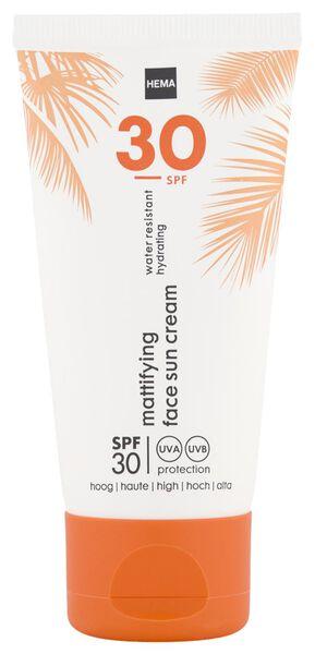 face sun cream mattifying SPF30 50ml - 11610209 - HEMA