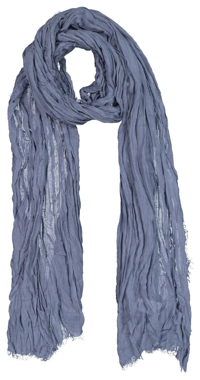 HEMA Damessjaal 200x80 (blauw)