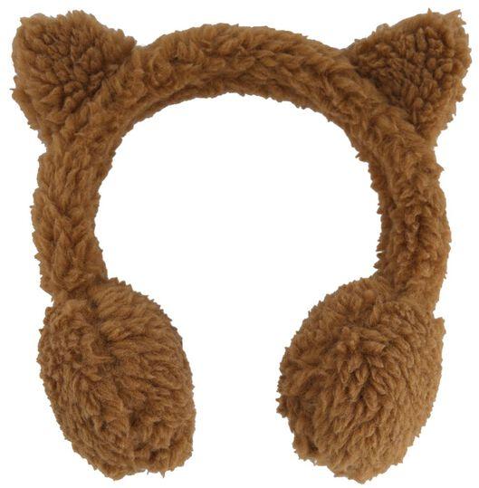 kinder oorwarmer teddy - 16741311 - HEMA