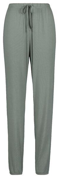 dames pyjamabroek lichtgroen lichtgroen - 1000018759 - HEMA