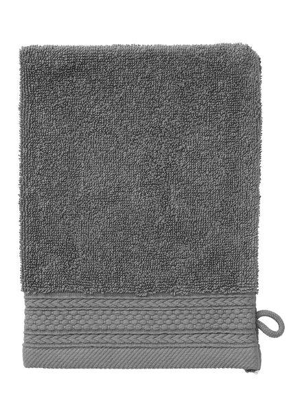 handdoeken - hotelkwaliteit donkergrijs donkergrijs - 1000015164 - HEMA