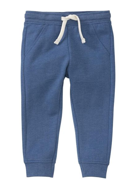 baby sweatbroek blauw blauw - 1000004260 - HEMA
