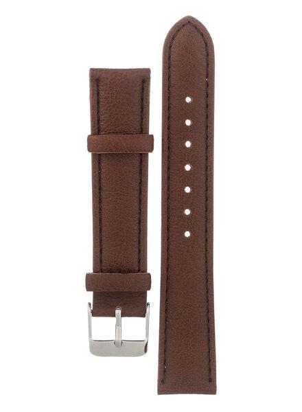 horlogeband bruin 16 - 12150027 - HEMA