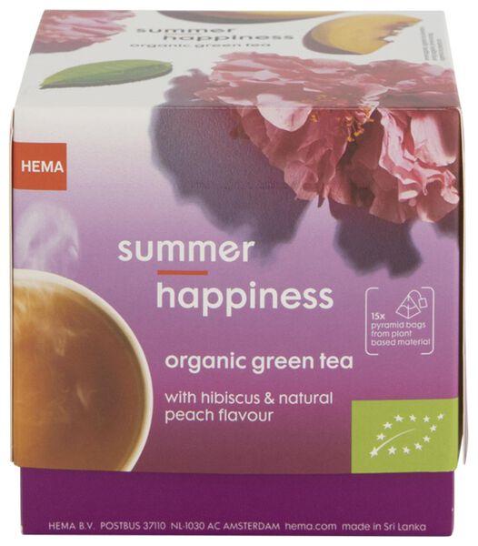 HEMA Groene Thee Biologisch Summer Happines - 15 Stuks