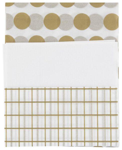 vloeipapier - 70x50 - 3 stuks - 14700333 - HEMA