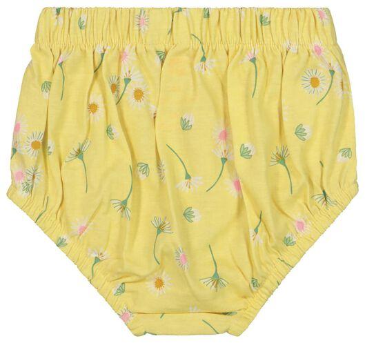newborn set - tuniek en broek geel geel - 1000019824 - HEMA