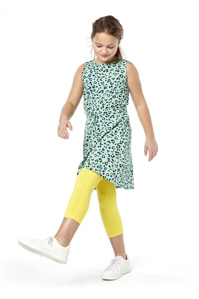 kinderjurk groen groen - 1000019107 - HEMA