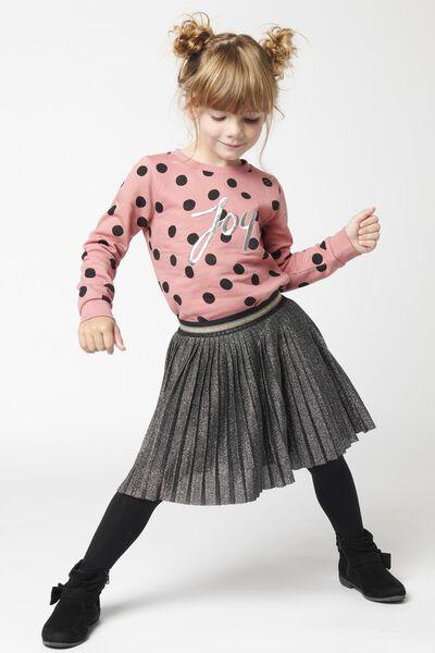 kindertrui joy roze - 1000021427 - HEMA