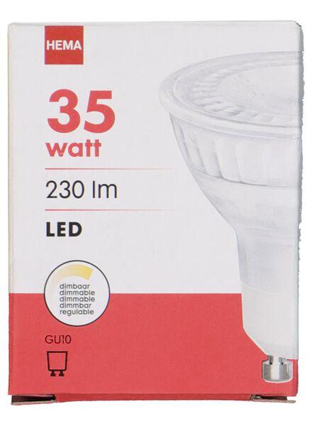 LED lamp 35W - 230 lm - spot - mat - 20020049 - HEMA