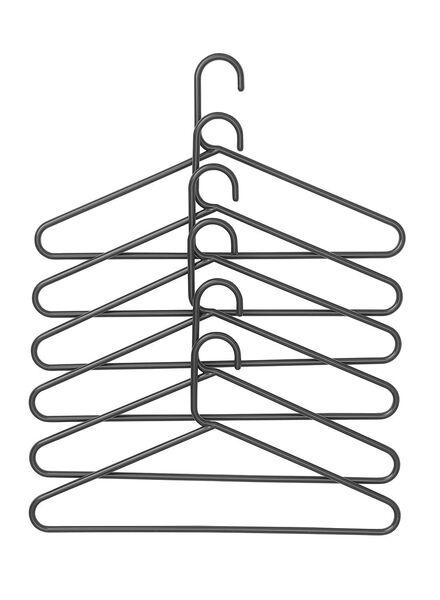 6-pak kledinghanger - 39811020 - HEMA