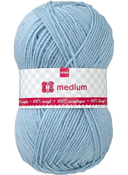 breigaren medium medium 100 g blauw - 1400053 - HEMA