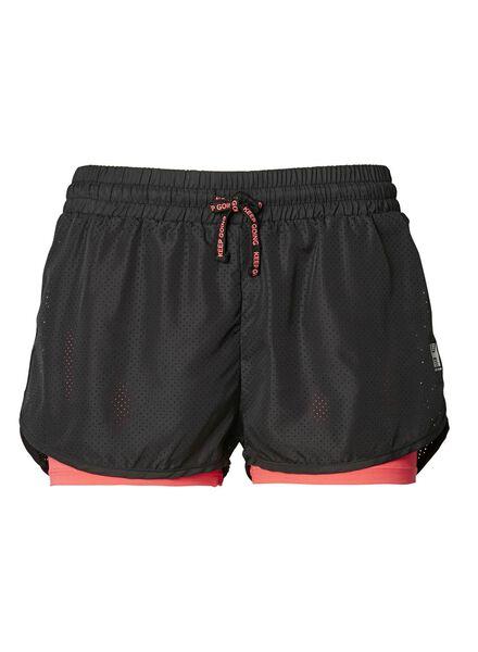 dames sportshort koraal koraal - 1000012375 - HEMA