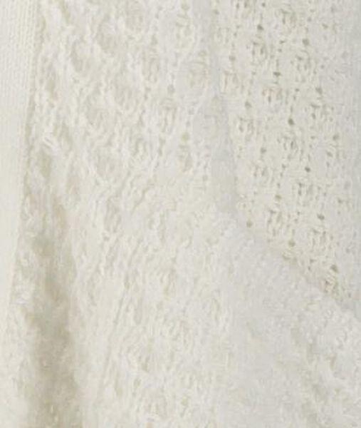damesvest gebreid gebroken wit gebroken wit - 1000019465 - HEMA