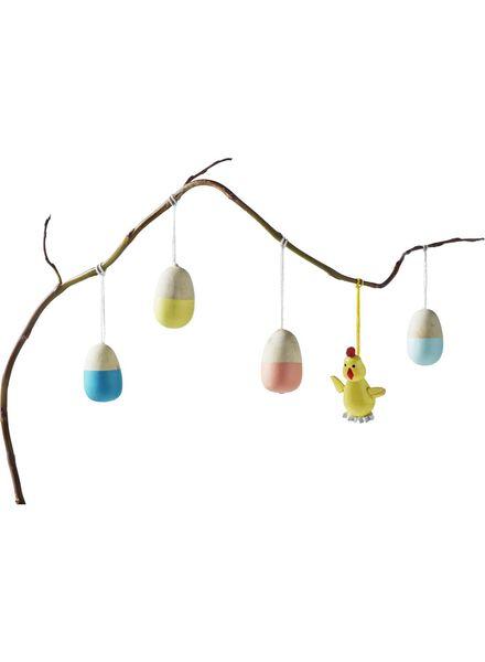 12-pak houten decoratiehangers - 25800032 - HEMA