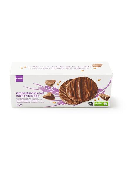 granenbiscuit met chocolade - 10840057 - HEMA